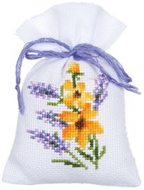 Geurzakje - kruidenzakje Bloemen en Lavendel  set van 3