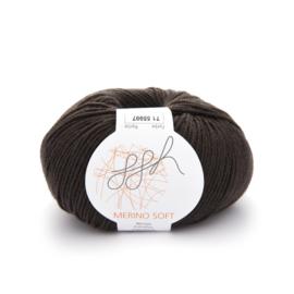 ggh Merino Soft 071 -  Donker chocolade