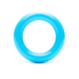 Durable Plastic Ringetje 30 mm ~ aquablauw - 5 stuks