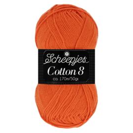 Cotton 8 Scheepjes 716 Oranje