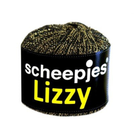 Scheepjes Lizzy Zwart/goud metallic color 10