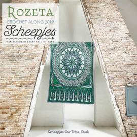 Scheepjes Rozeta CAL2019 Luxury Kit Our Tribe - Dusk pre-order
