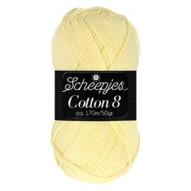 Cotton 8 Scheepjes 508 Lichtgeel