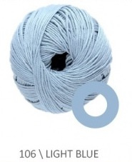 DMC Natura Just Cotton N106 Light Blue