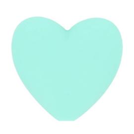 Opry siliconen kralen hartjes 5 stuks kleur 285