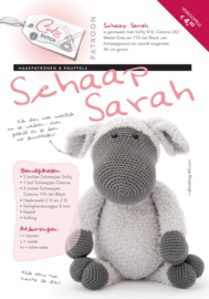 Garen, Fournituren en patroon Schaap Sarah grijs
