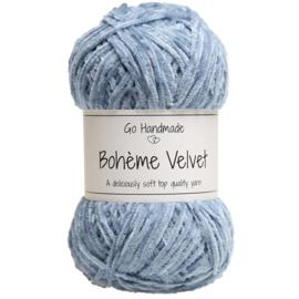 Go Handmade Bohème Velvet Fine - Jeans blue- 17606