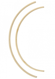Go Handmade Bamboo rings 20 en 25mm - set van 2