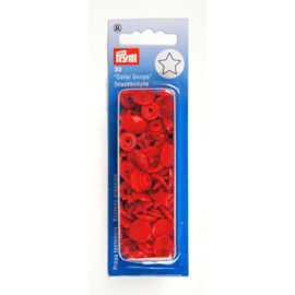 Color snaps -  Prym ster 12,4mm rood