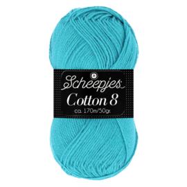 Cotton 8 Scheepjes 725 Oud blauw