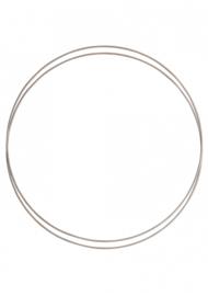 Go Handmade Metalen ringen set (2pc) kleur: Mushroom - 30cm