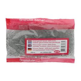 Glas granulaat, glasparels kleur donker 004
