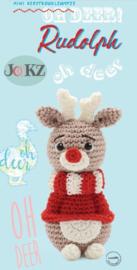 Garen en fourniturenpakket Mini koukleumpje Rudolph