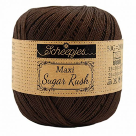 Scheepjes Maxi Sugar Rush 162 Black Coffee