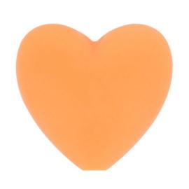 Opry siliconen kralen hartjes 5 stuks kleur 704