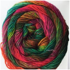 Lang Yarns Mille Color socks & lace 55