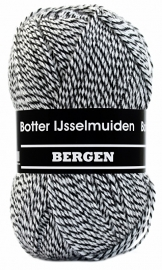 Botter IJsselmuiden Bergen 07 Zwart/grijs/wit