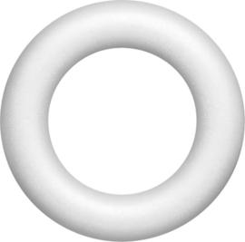 Styropor Piepschuim ring 25cm