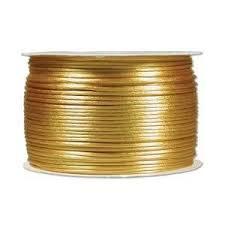 Satijnkoord 2mm Goud