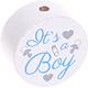 Houten kraal ''It's a Boy''