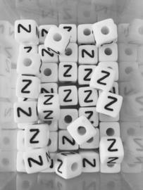 Letterkraal acryl wit Z
