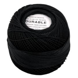 Durable borduur en haakkatoen Zwart 1001