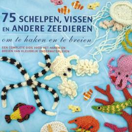 75 Schelpen, vissen en andere zeedieren om te haken en te breien