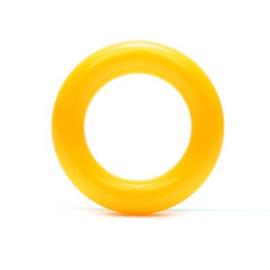 Durable Plastic Ringetje 30 mm ~ geel - 5 stuks
