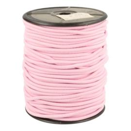 Koordelastiek 3mm Roze
