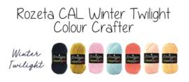 Scheepjes CAL2019 Rozeta Colour Crafter - Winter Twilight