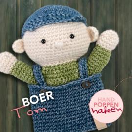 Haakpakket Boer Tom uit boek Handpoppen haken Cute Dutch