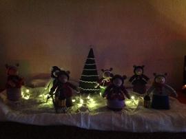 Kerstmuizen van Reina