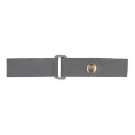 Kiltriempje 18mm donker grijs