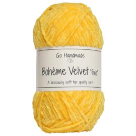 Go Handmade Bohème Velvet Fine - Giraffe Yellow - 17615