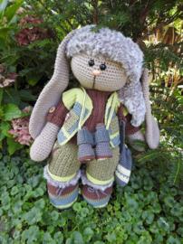 XXL Funny Bunny kledingset Ranger Davy versie 2