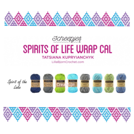 Scheepjes CAL Spirit of Life wrap