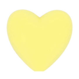 Opry siliconen kralen hartjes 5 stuks kleur 638
