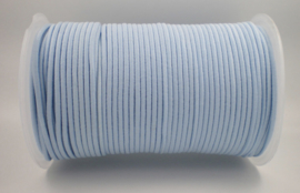 Koordelastiek 2 mm Babyblauw