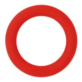 Opry siliconen bijtring 65mm kleur 722 Rood