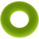 Siliconen ring lichtgroen