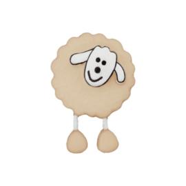 Knoop schaap met voetjes Beigelinnen