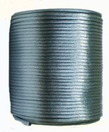 Satijnkoord 2 mm donker Nijlblauw