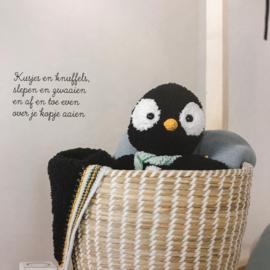 Garenpakket knuffeldeken Pedro de Pinguin