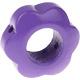 Houten bloemkraal paars  ''babyproof''
