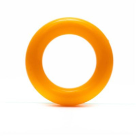 Durable Plastic Ringetje 30 mm ~ oranje - 5 stuks