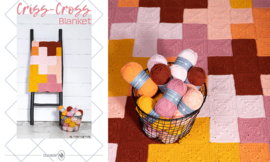 Criss-Cross Blanket Pink/Yellow