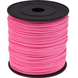 Nylon/polyester koord Roze