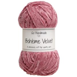 Go Handmade Bohème Velvet Fine - Raspberry- 17603