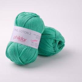 Phildar Coton 2 Menthe 0059