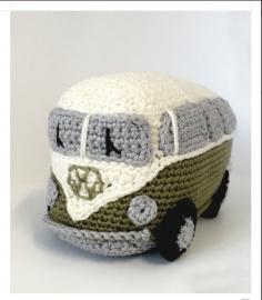 Haakpakket VW Busje Groen